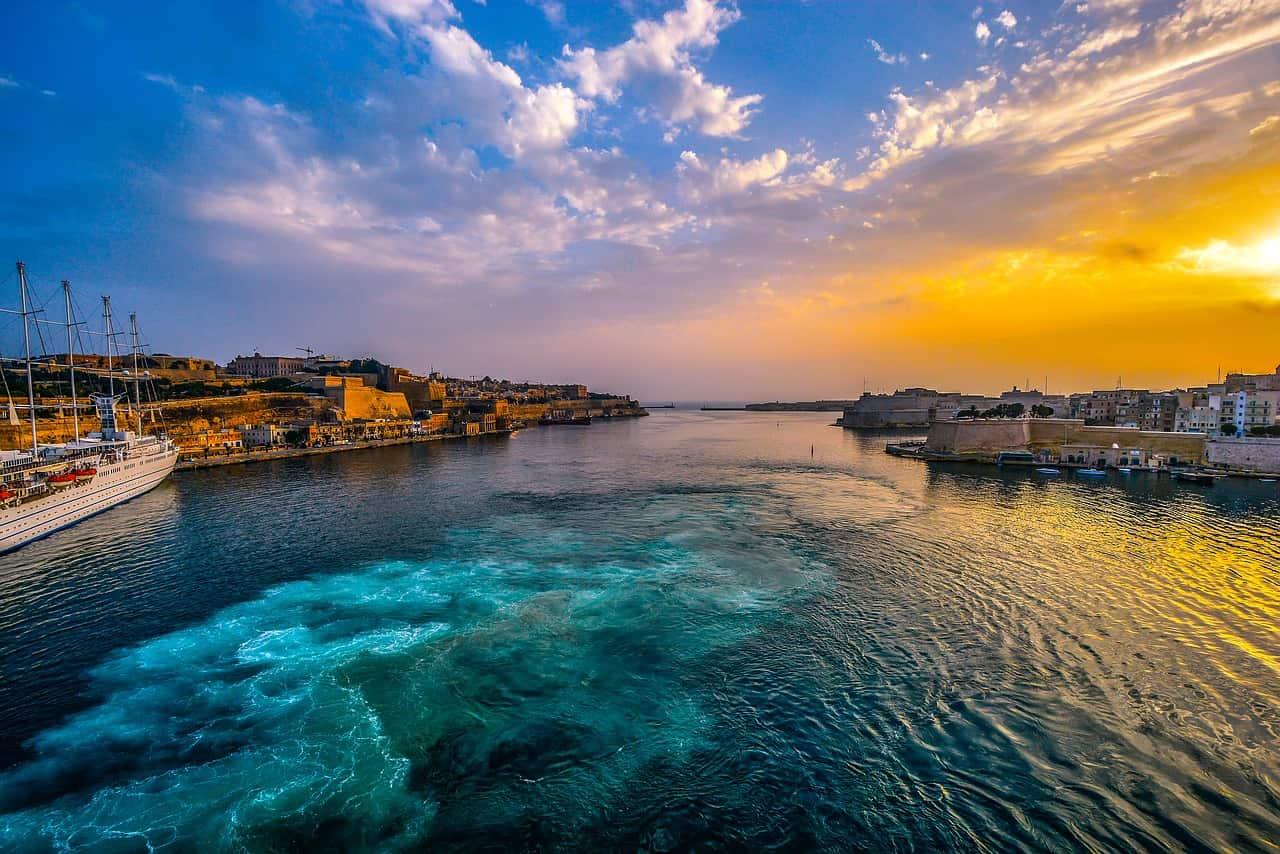 puerto de Malta isla