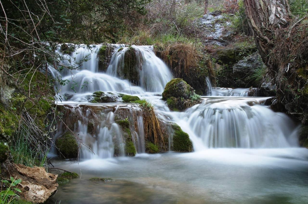 cascada en un rio de Jaén