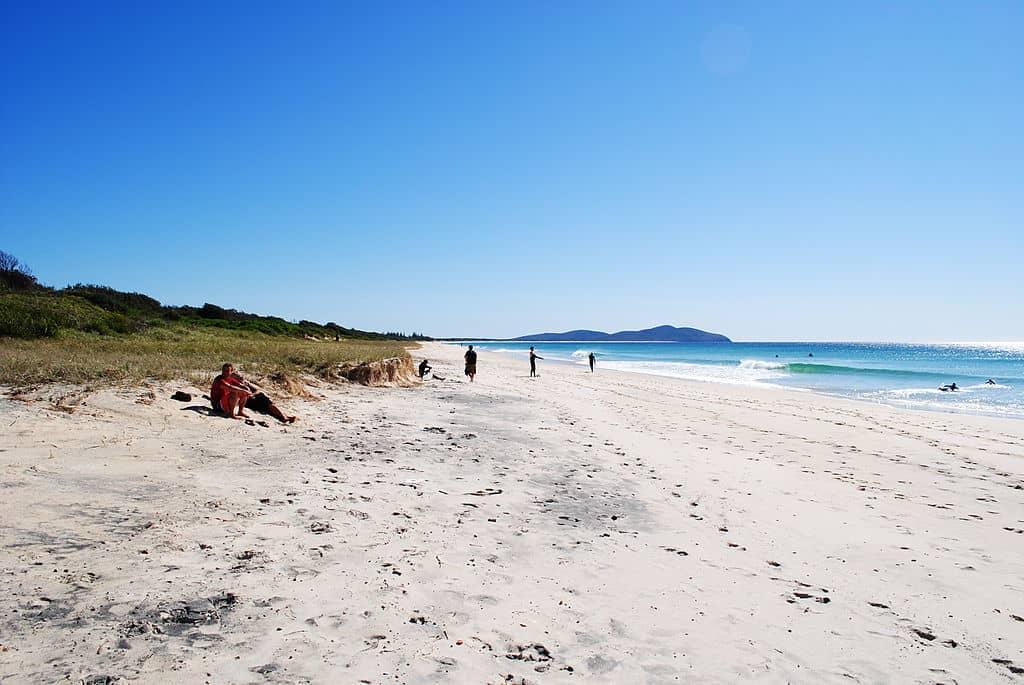 Playa de las siete millas o seven mile beach