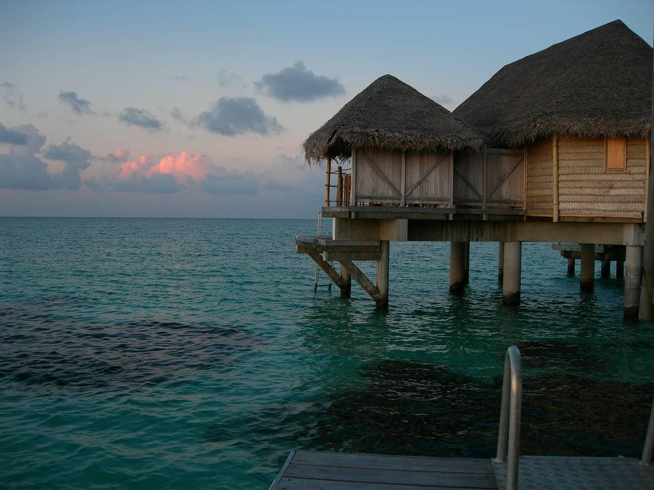 atardecer en Tahití