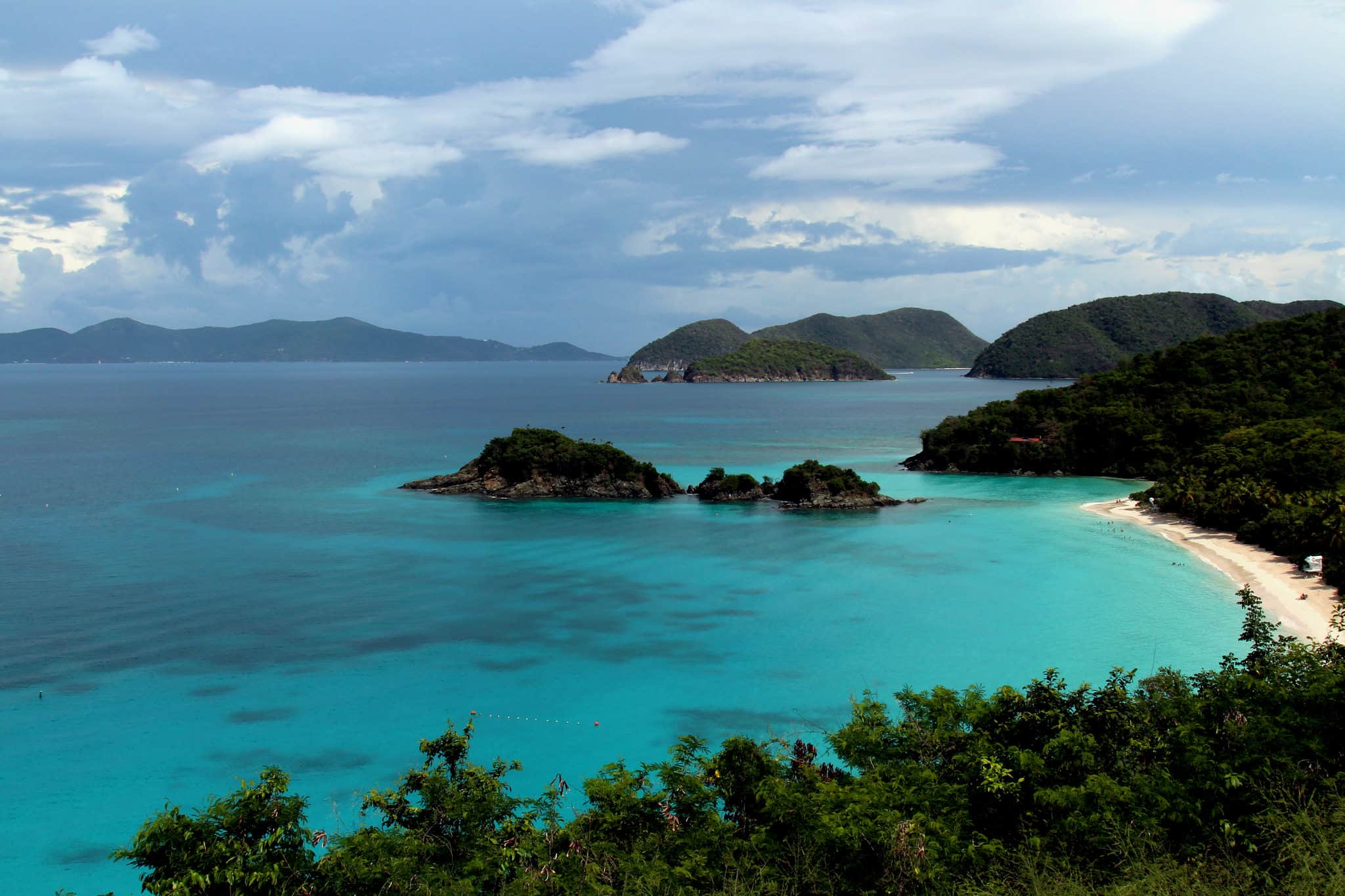 Playa Trunk Bay en St John