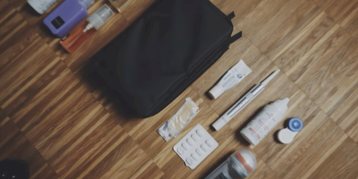 La bolsa de aseo es imprescindible equipaje para ir de viaje