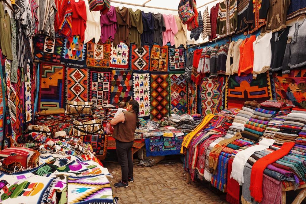 Tienda de telas en Perú