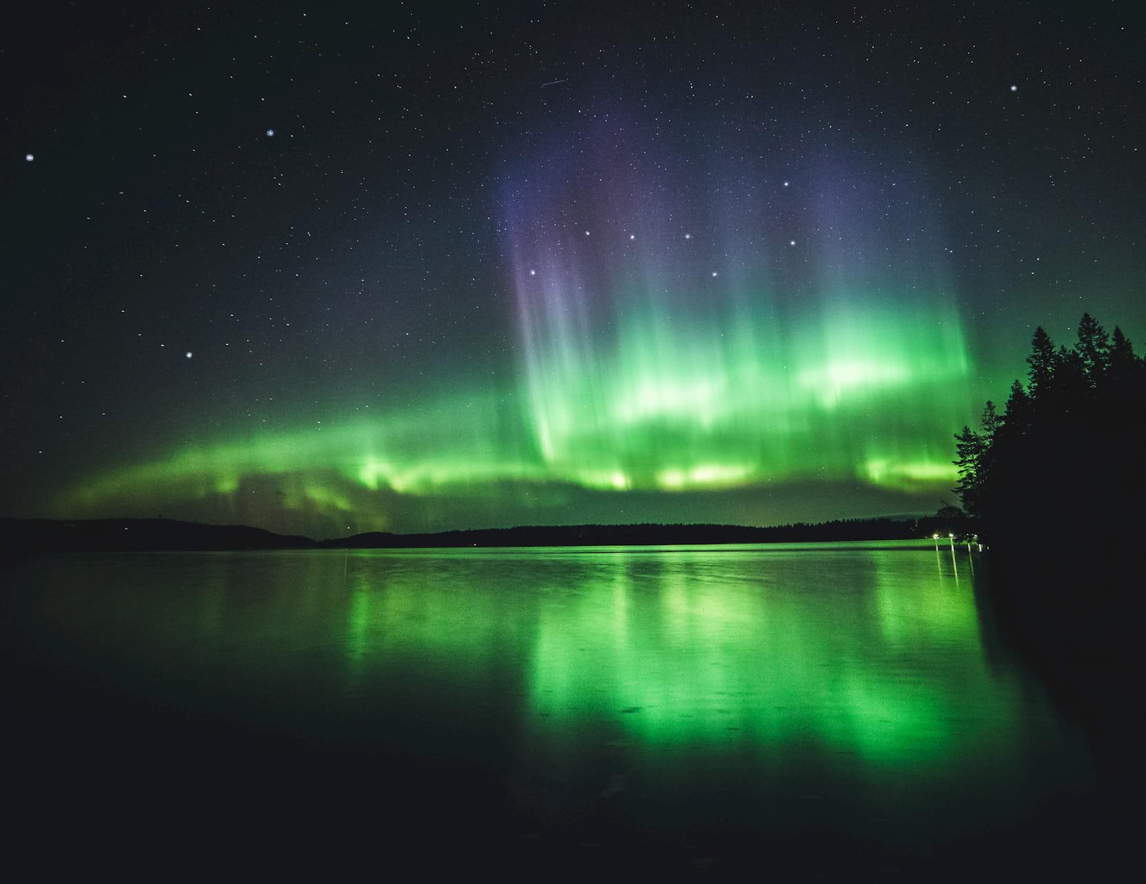Auroras boreale en suecia, un viaje único