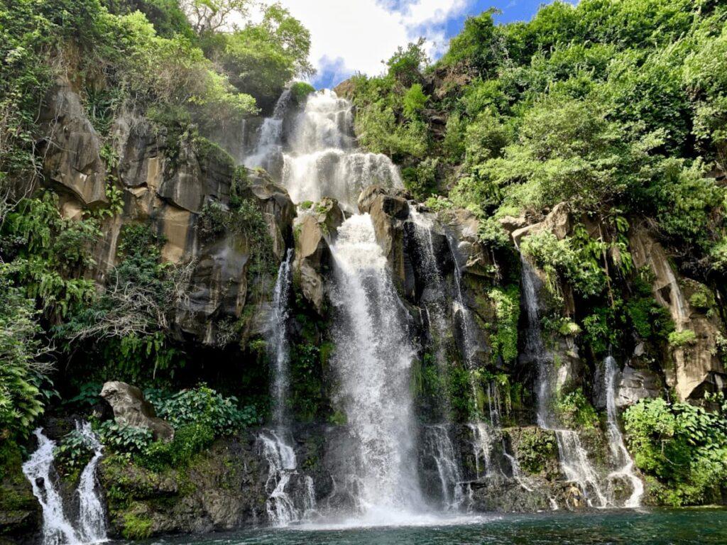 Foto de cataratas en las islas Reunión
